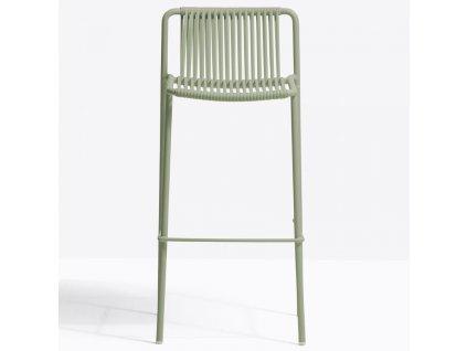Zelená kovová barová židle Tribeca 3668