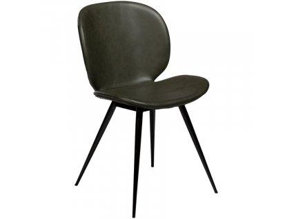 Zelená vintage židle DanForm Cloud