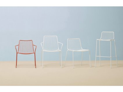 Barová židle Nolita 3658, bílá