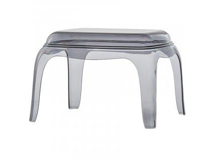 Kouřová plastová stolička Pasha 661 41 cm