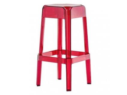Barová židle Rubik 580, červená