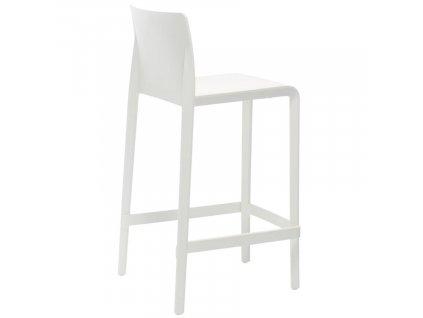 Barová židle Volt 677, bílá
