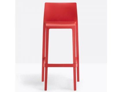 Barová židle Volt 678, červená