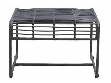 Tmavě šedý konferenční stolek Oluf