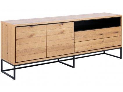Dřevěná komoda Jayden 198 x 45 cm