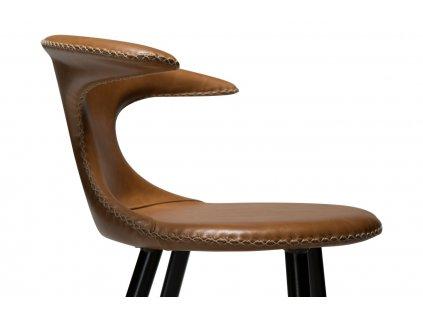 Barová židle DanForm Flair 101 cm, kůže, hnědá