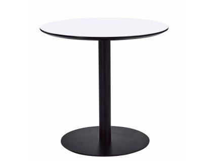Kulatý kovový bistro stůl Izzy 80 cm