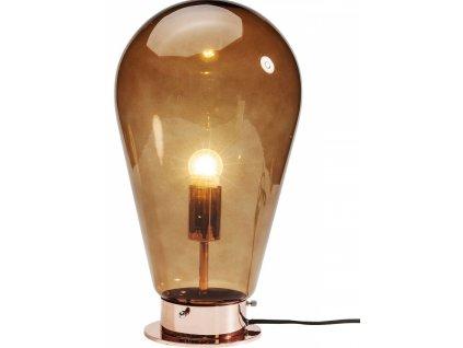 Měděná stolní lampa Bulb