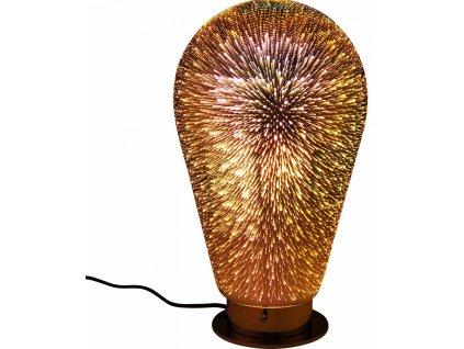 Stolní lampa Firework Bulb