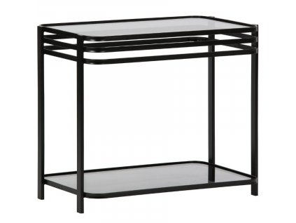 Černý kovový konferenční stolek Sophia 36 x 60 cm848x848