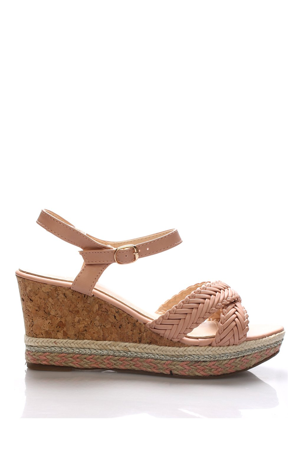 Letní sandály na korkové platformě Monshoe