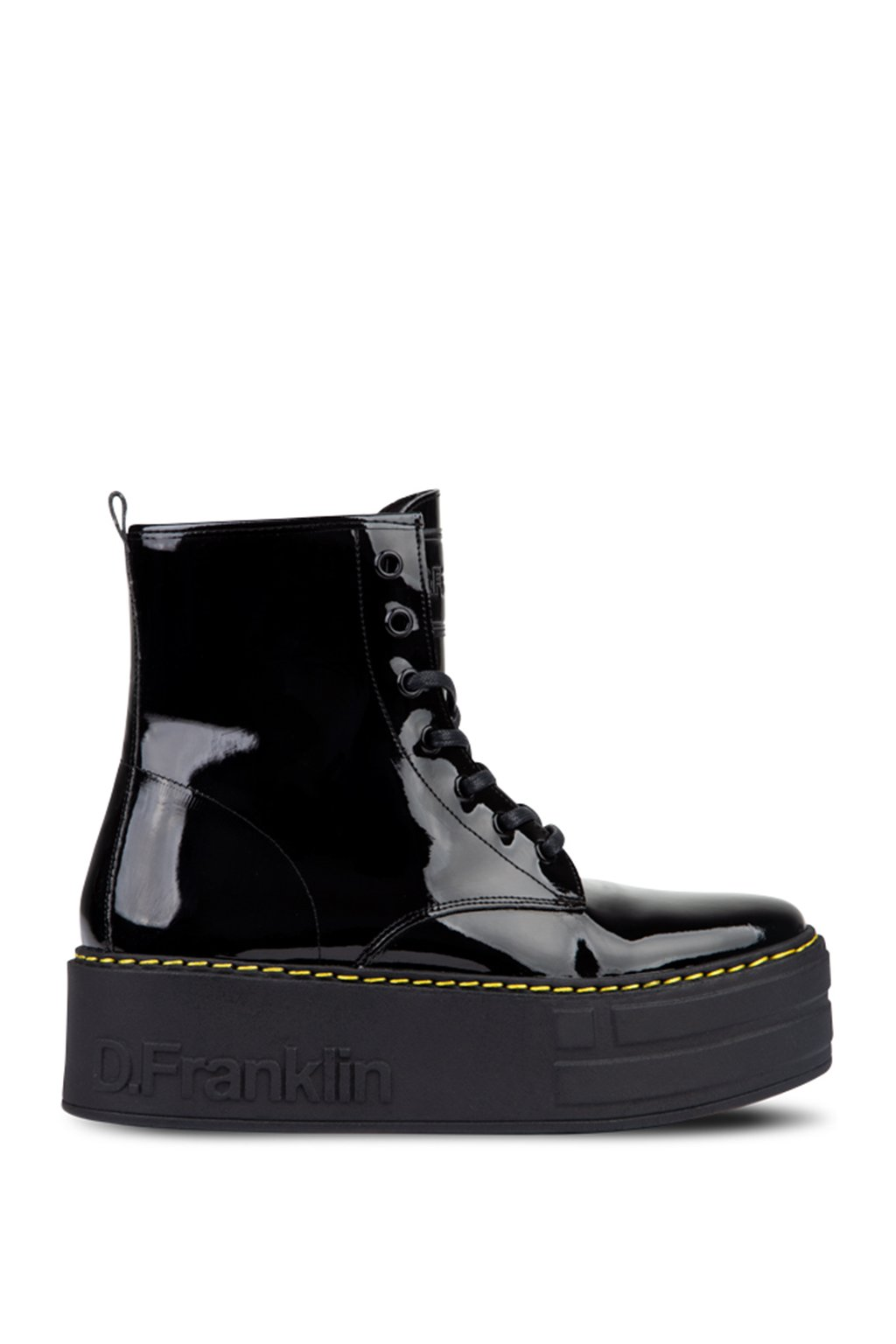 cerne snerovaci boty na platforme dfranklin