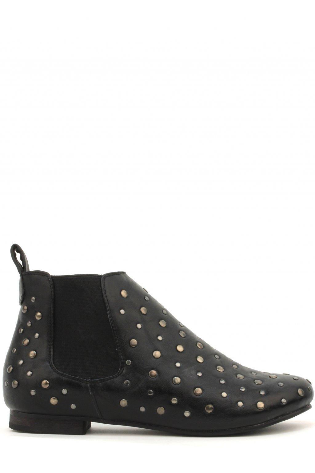 Černé Chelsea boty Timeless