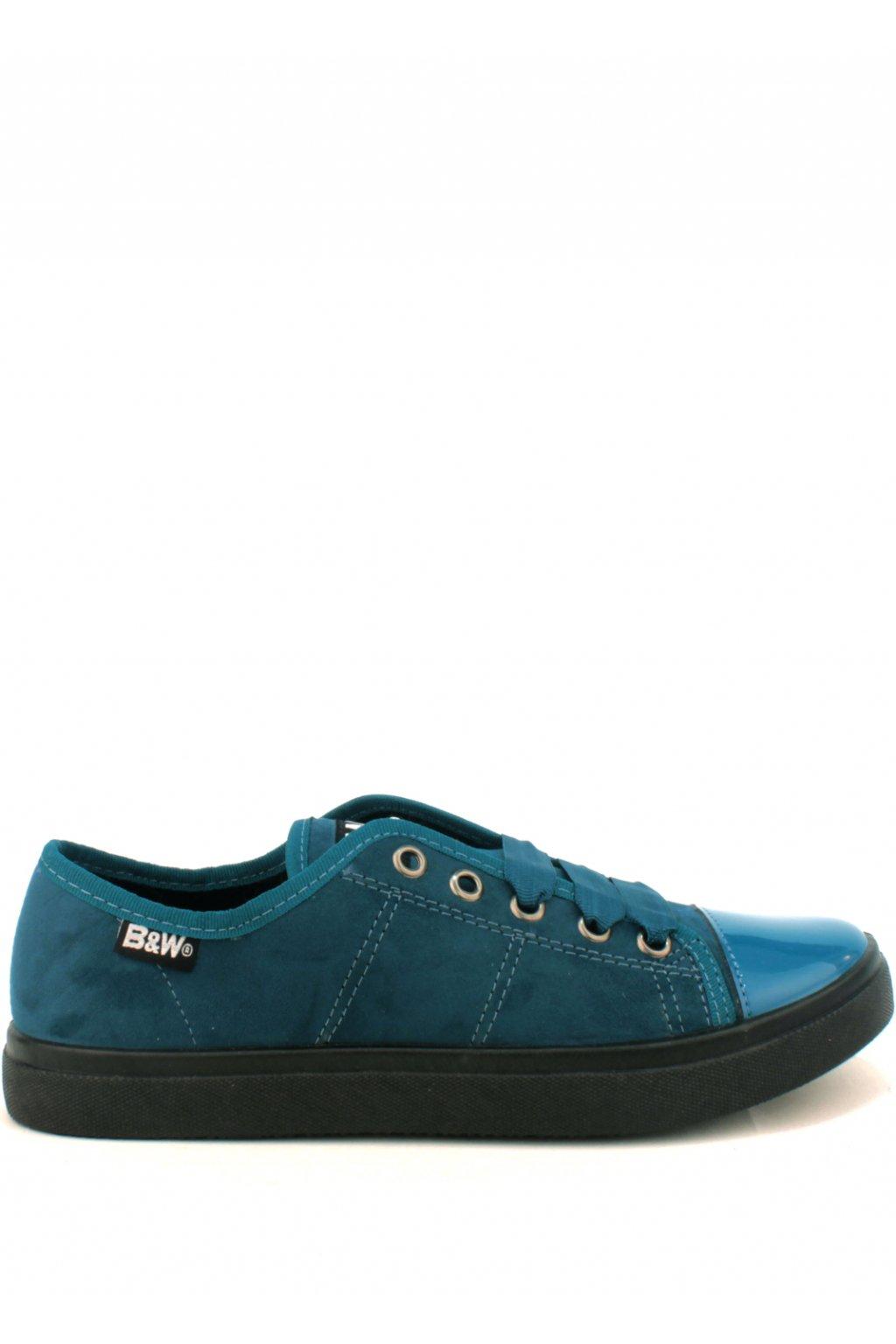 Modro zelené dámské tenisky Break&Walk