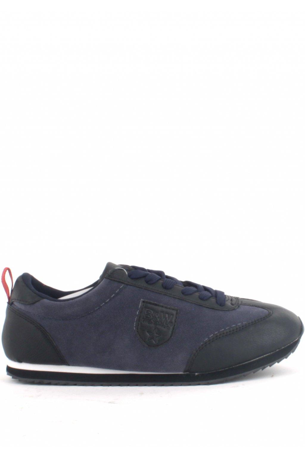 Modré pánské tenisky Break&Walk