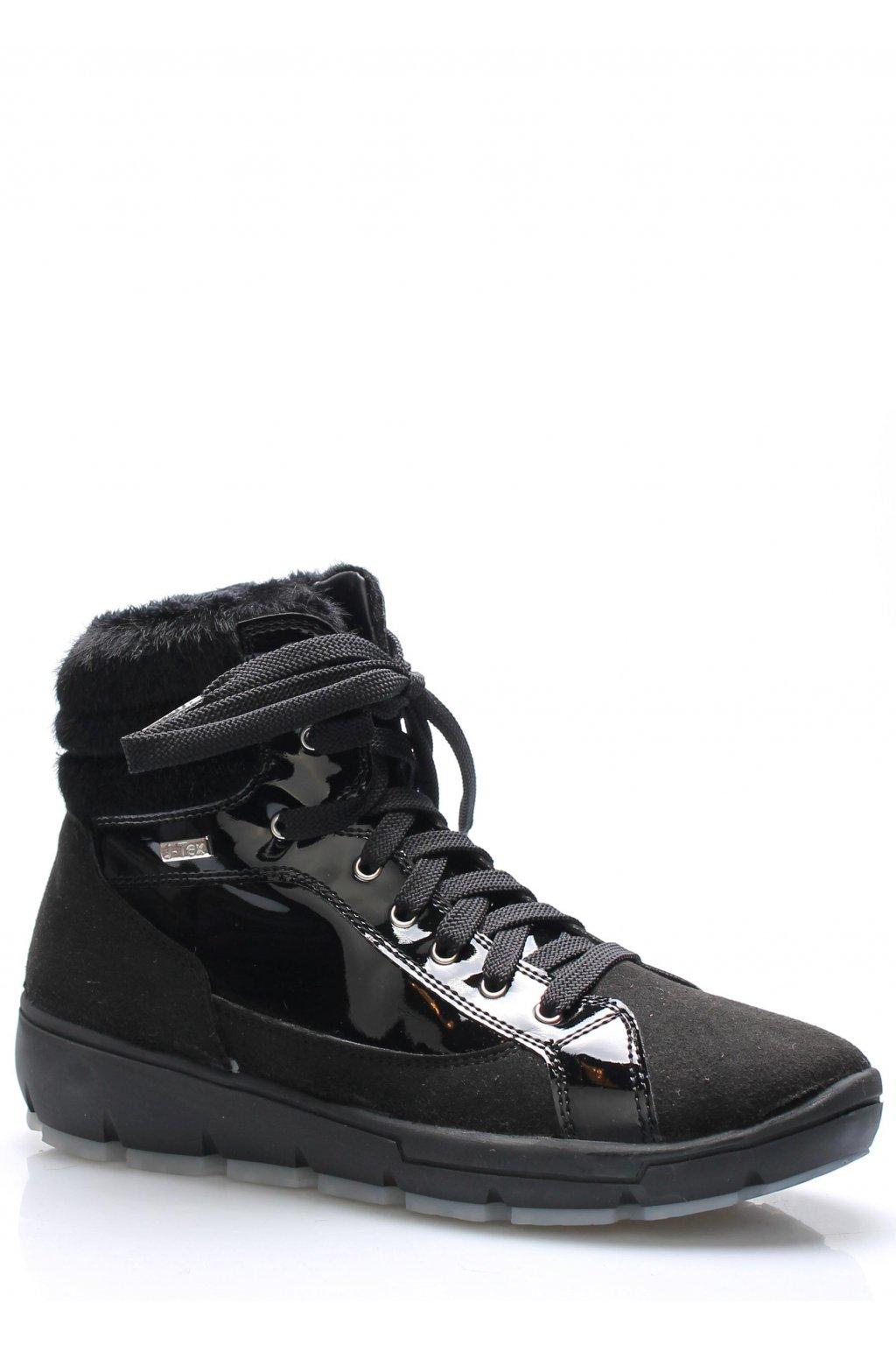 Černé italské zimní boty M&G