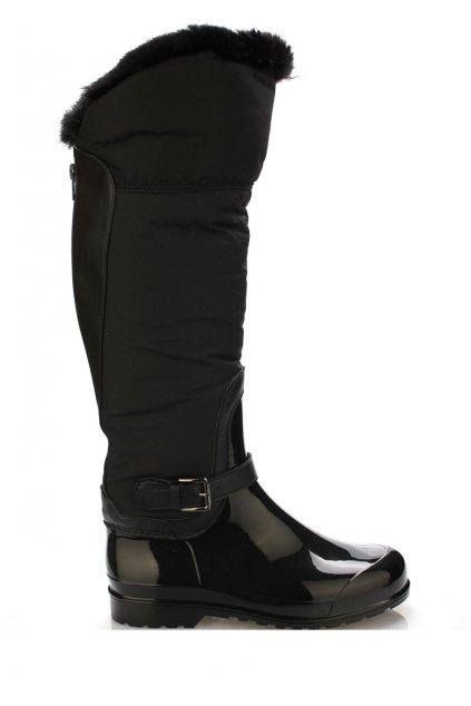 Černé italské vyšší holiny s černým kožíškem M&G