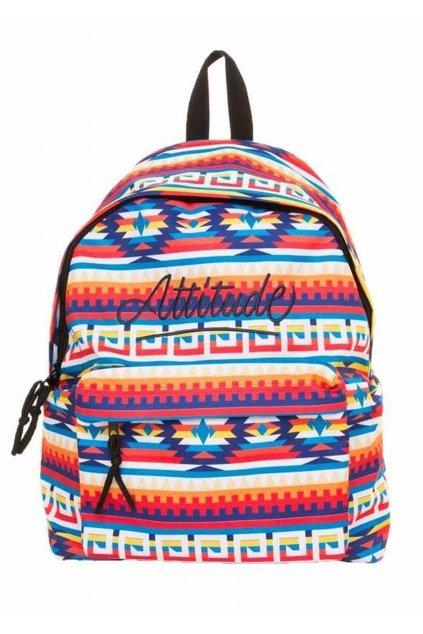 Barevný batoh se vzorem MTNG