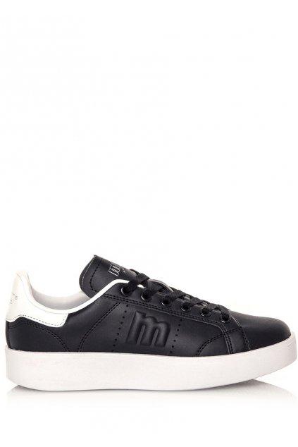 Černé tenisky s bílou podrážkou MTNG