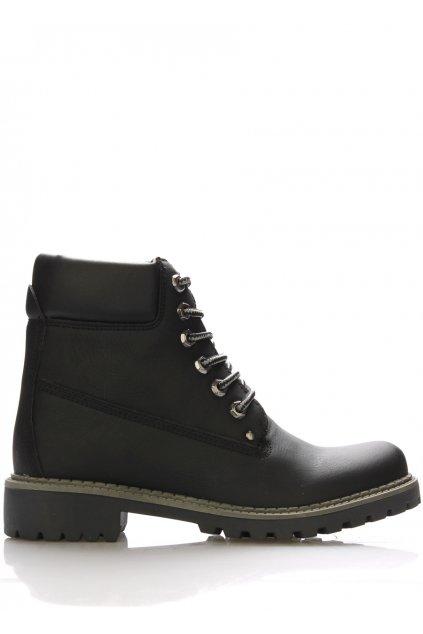 Černé boty farmářky Claudia Ghizzani