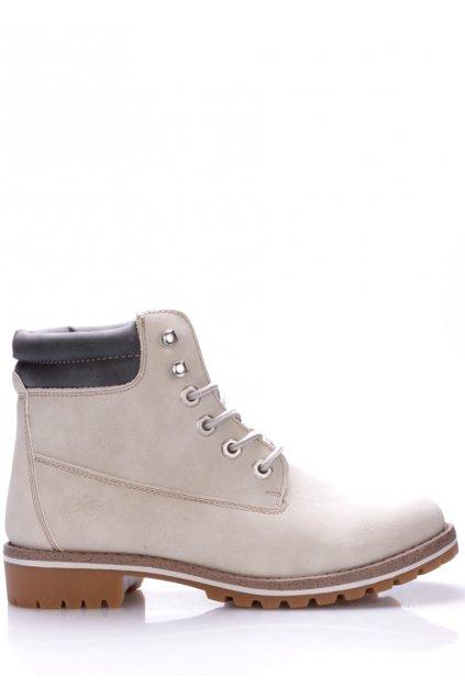 Bílé boty farmářky Canadians