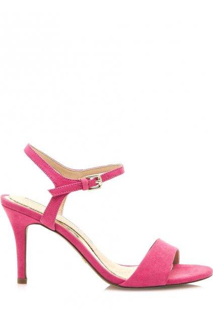Růžové sandály na jehlovém podpatku Maria Mare