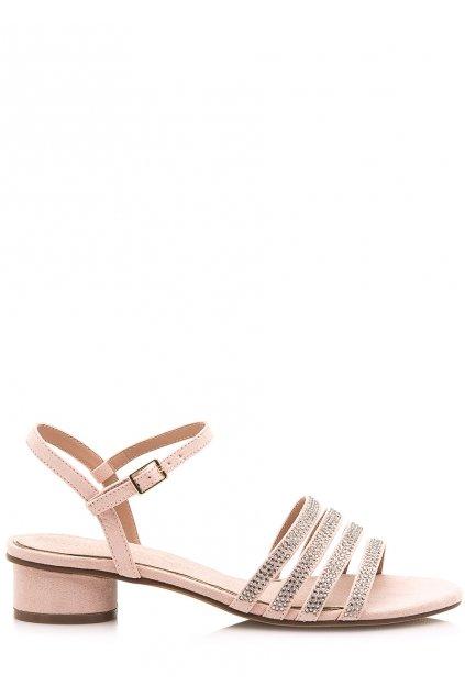 Béžové sandálky se čtyřmi pásky Maria Mare