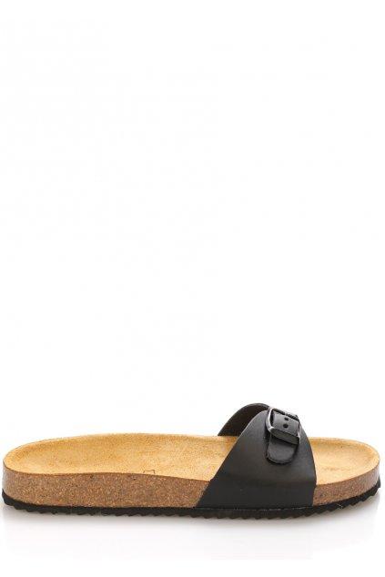 cerne nizke kozene zdravotni pantofle emma shoes1
