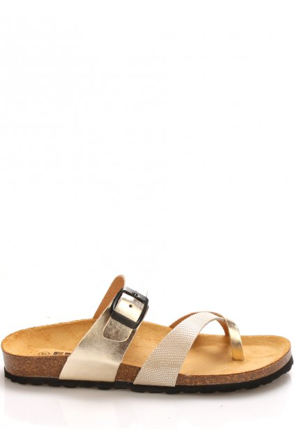 zlate kozene zdravotni pantofle emma shoes1