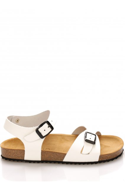 bile kozene zdravotni sandaly emma shoes1