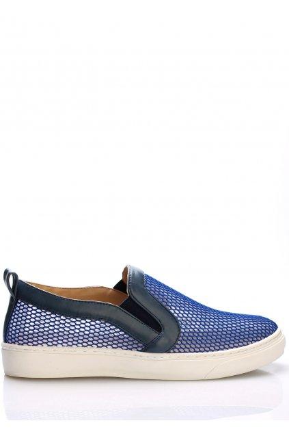 Modré nazouvací boty Trendy too