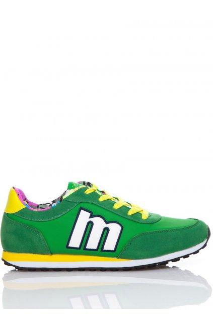 Zelené španělské tenisky MTNG