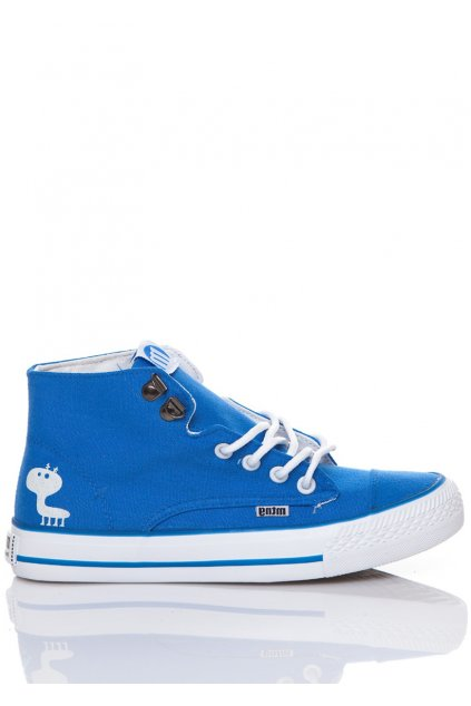 Modré kotníkové tenisky MTNG