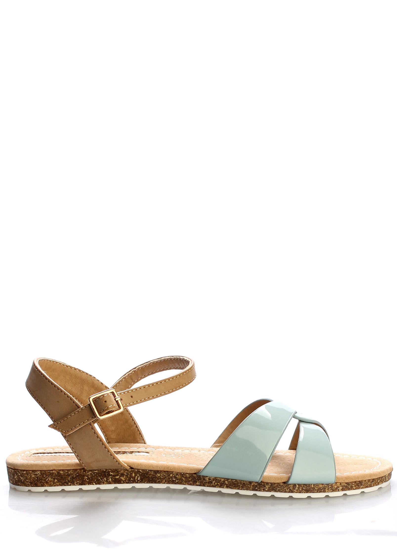 138cc9a08 Zelené korkové letní sandálky MARIA MARE Velikost: 36