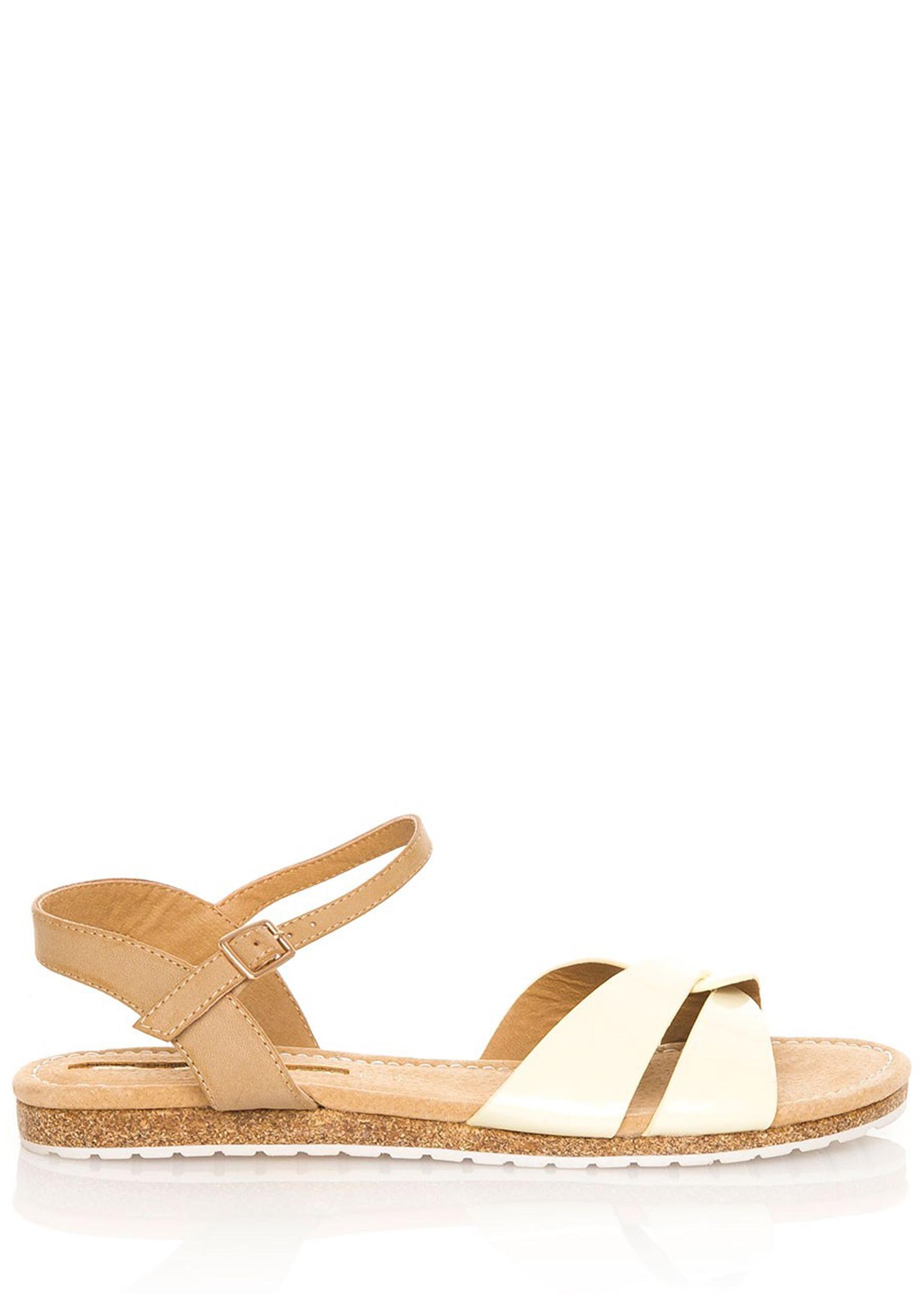 3c21c2405 Žluté korkové letní sandálky MARIA MARE Velikost: 36