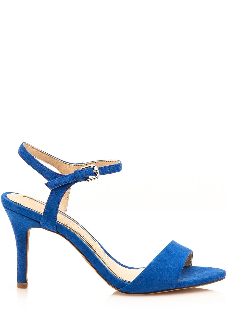 c61e1ebb8 Modré sandály na jehlovém podpatku Maria Mare Velikost: 36