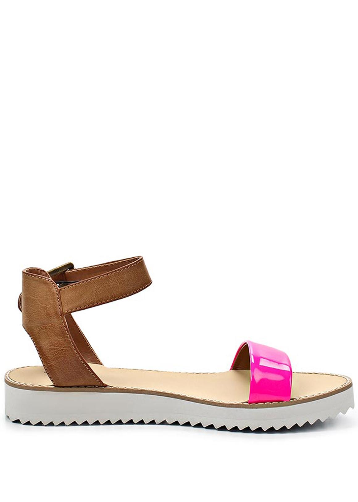 67da110d9657 Qube Páskové růžové sandály na platformě Timeless Quing Velikost  36