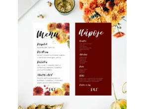 menu/drink karty
