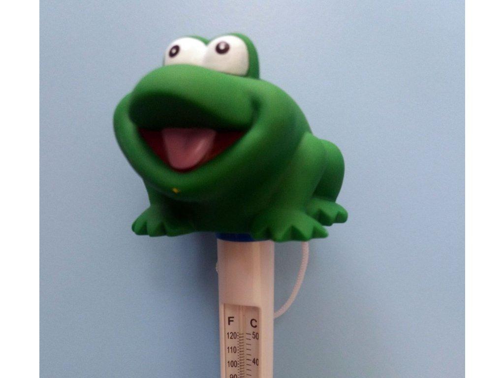 Teploměr žába