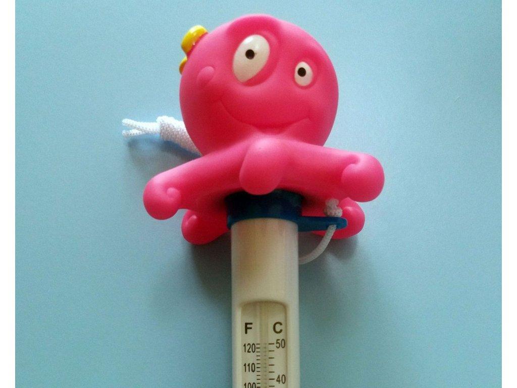 Teploměr chobotnička