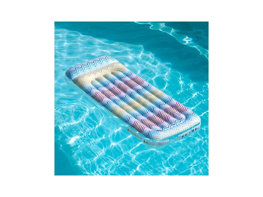 fauteuil gonflable piscine zig zag