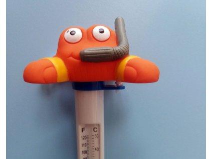 Teploměr krab