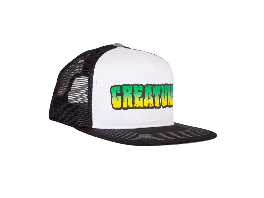 CR Breaker Trucker BlackWhite Right