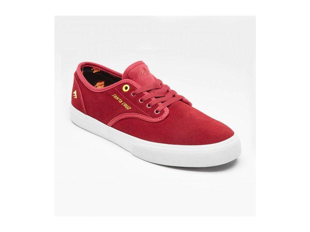 emerica wino standard x santa cruz skate shoes red white p48284 119823 medium