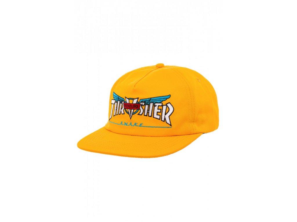 snapback thrasher venture collab gold farba zlta1 352415