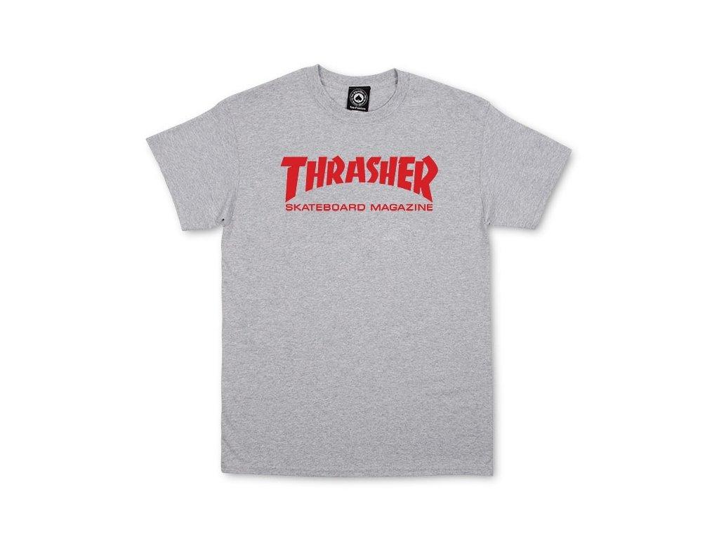 Thrasher Mag Tee Grey