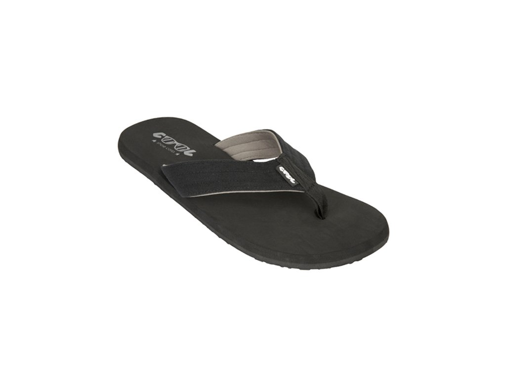 TONGS pas cher HOMME BEACH DONY BLACK