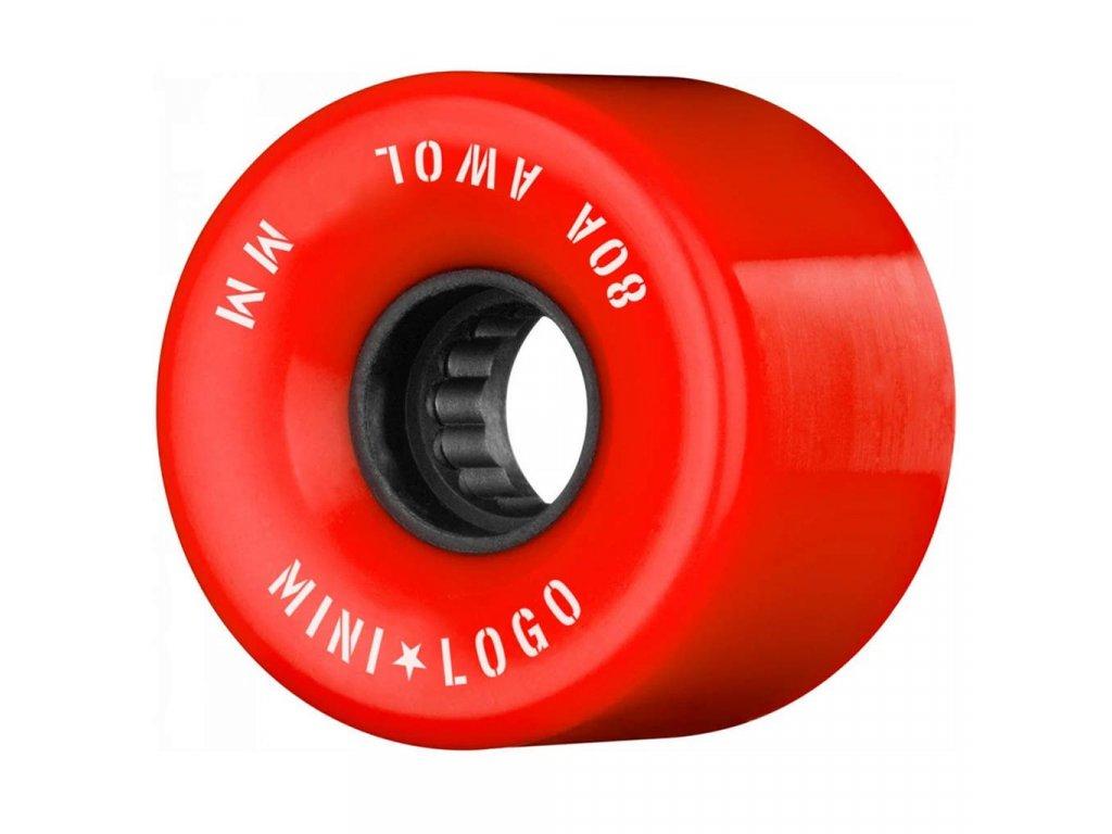 Mini Logo AWOL 59mm 80a Red