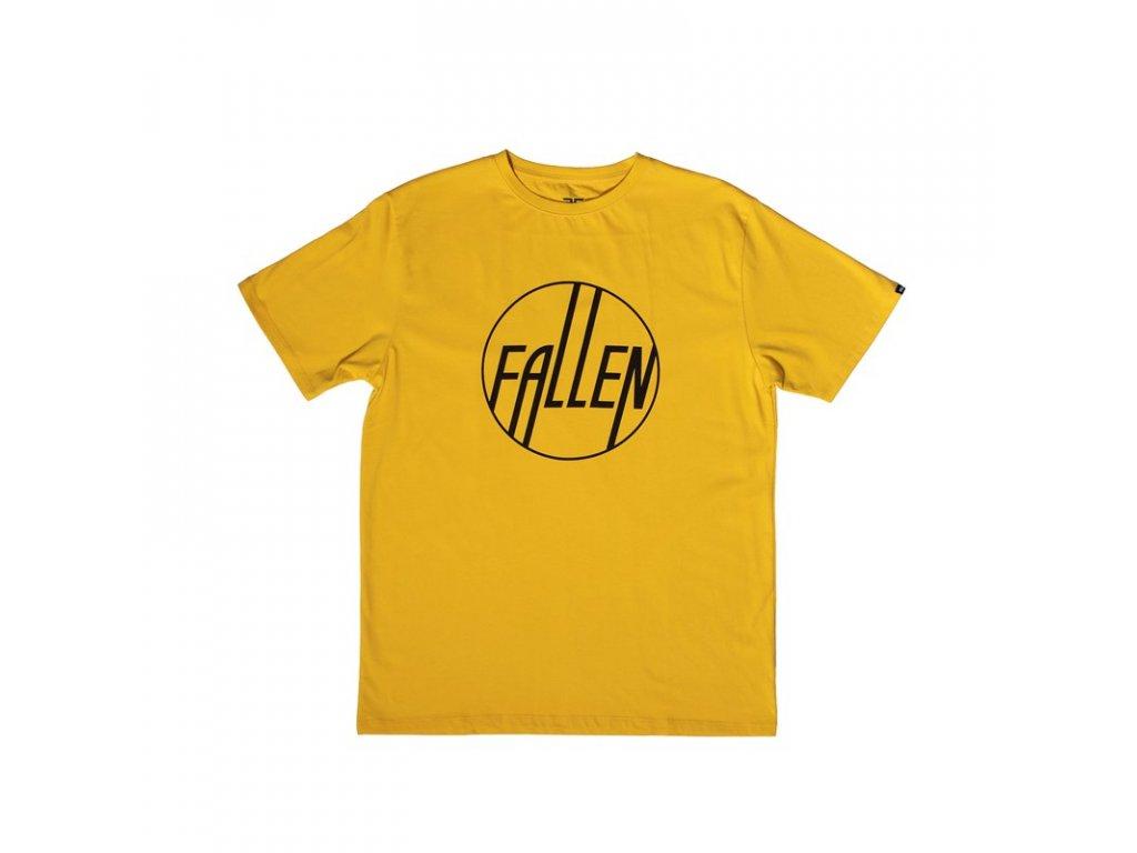 Fallen - Circle Tee -Yellow