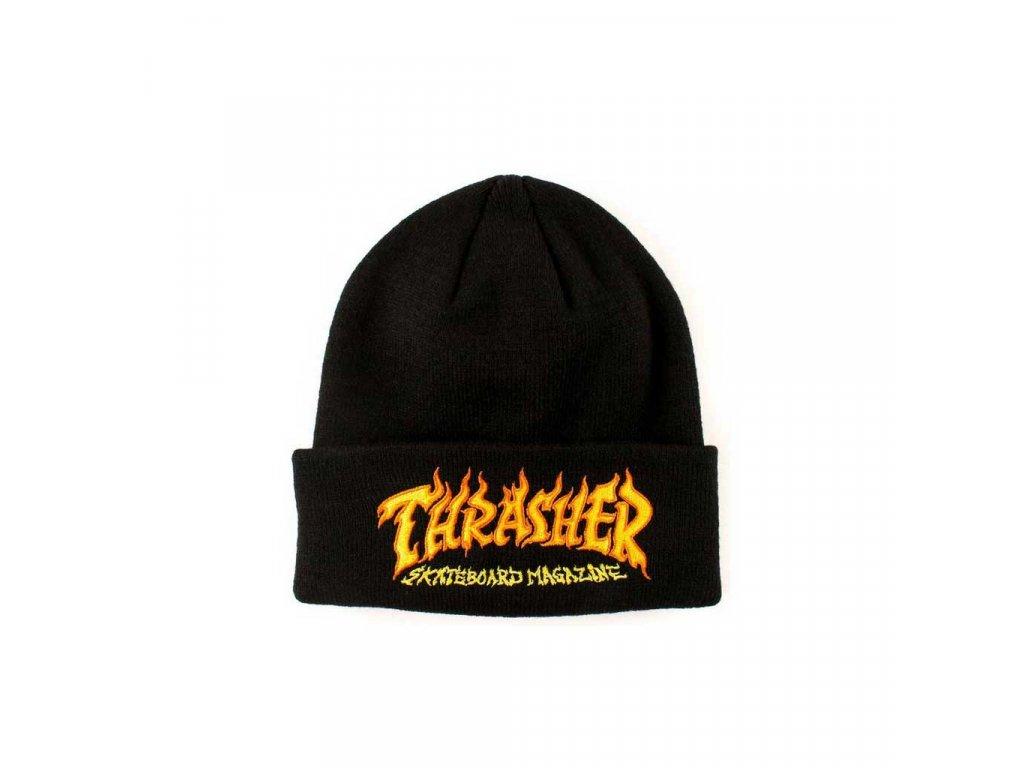 Thrasher fire logo beanie black 1024x1024